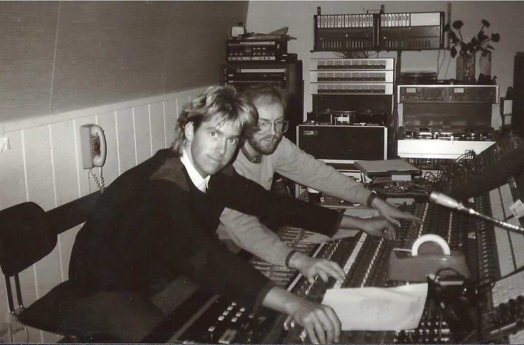 Per Gessle i studion bild 2