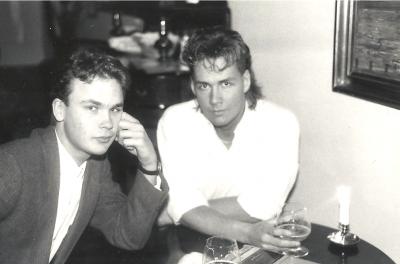 Willard Ahdritz & Anders Larsson i Andrea Doria